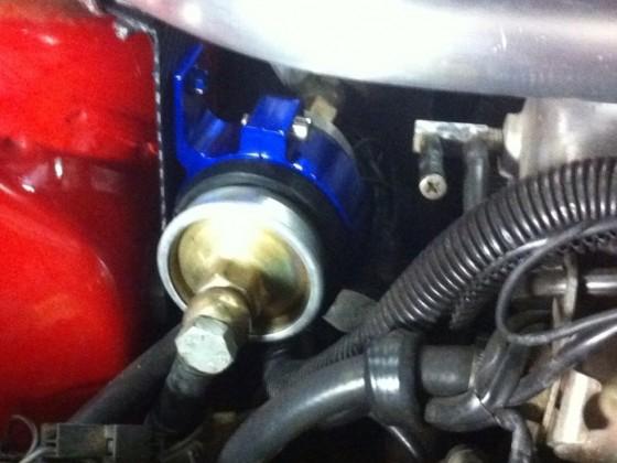 Domstrebe, Benzinfilterhalter, Car-HiFi-Verkabelung
