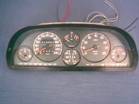 Umgebauter Turbo Tacho