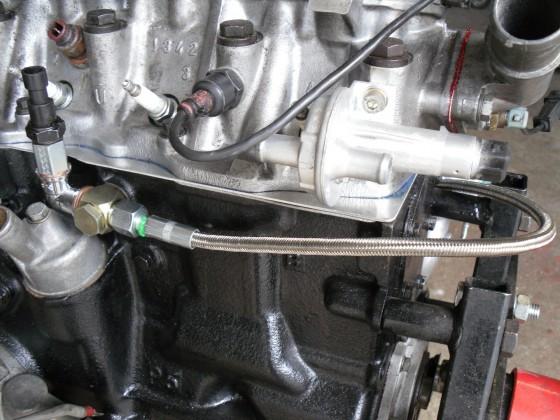 Ölleitung Turbo