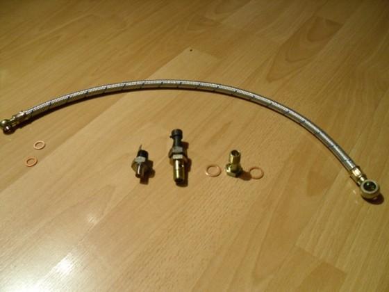 Ölleitung Turbo 1,6 01
