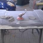 Motorhaube Steinschlagbeseitigung