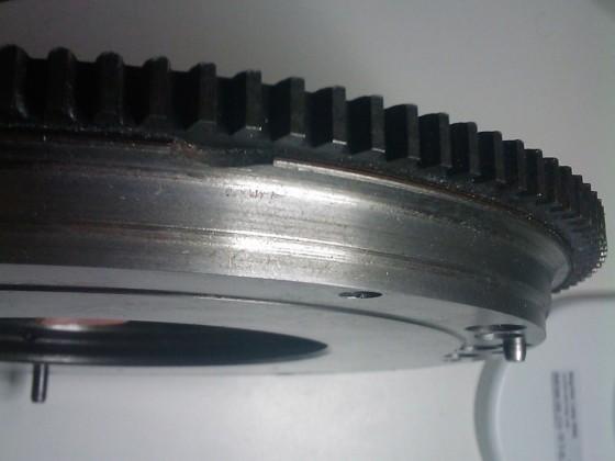 2 kg leichteres Schwungrad